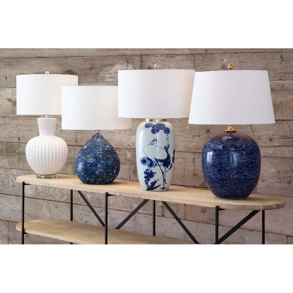 Regina Andrew Lighting Sirene Table Lamp - Blue 13-1326BLU