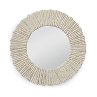 Regina Andrew Home Slate Mirror Round - Natural