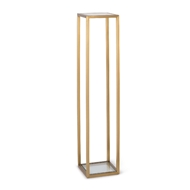 Regina Andrew Home Sophie Pedestal Large - Natural Brass