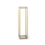 Regina Andrew Home Sophie Pedestal Small - Natural Brass