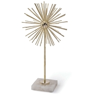 Regina Andrew Home Spike Sculpture Tall - Polished Brass 20-1093BRS