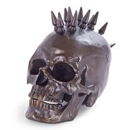 Regina Andrew Home Spiked Skull - Antique Bronze