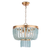 Regina Andrew Lighting Summer Glass Bead Chandelier Small 16-1190