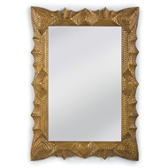 Regina Andrew Home Tramp Art Mirror - Gold
