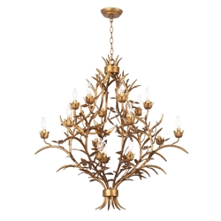 Regina Andrew Lighting Trillium Chandelier Small 16-1194