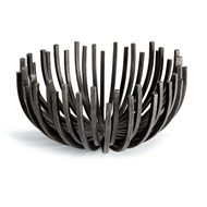 Regina Andrew Home Webbed Bowl Circle - Blackened Iron