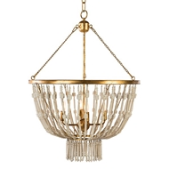 Aidan Gray Lighting Cole Pendant L506-PEND-WHT