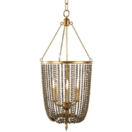 Aidan Gray Lighting Gailey Pendant L582-CHAN-BRN