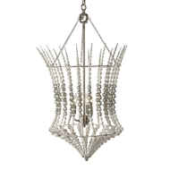 Aidan Gray Lighting Lantern Silver L831-CHAN-SIL
