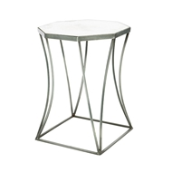 Aidan Gray Home Cuadrado Side Table, Steel
