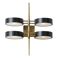 Arteriors Lighting Duane Sconce 49035 - Steel