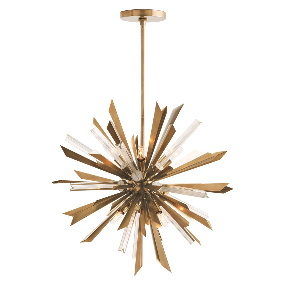 Arteriors Lighting Waldorf Small Chandelier 89027 - Steel