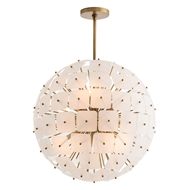 Arteriors Lighting Enya Chandelier 89035 - Steel