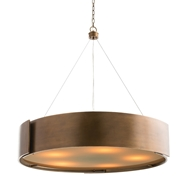 Arteriors Lighting Dante Chandelier 89702 - Brass