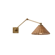 Arteriors Lighting Padma Wall Lamp DS49016 - Steel