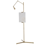 Arteriors Lighting Aja Easel Floor Lamp DS79001 - Steel