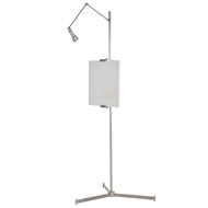 Arteriors Lighting Aja Easel Floor Lamp DS79002 - Steel