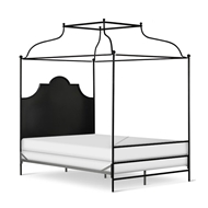 Corsican Furniture Double Canopy Metal Panel Bed