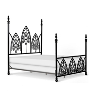 Corsican Furniture Company Gothic Four Post Bed 43590