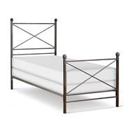 Corsican Furniture Standard Metal Bed 43272