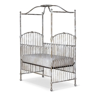 Corsican Furniture Company Stationary Canopy Crib 43810