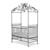 Corsican Furniture Stationary Princess Canopy Crib