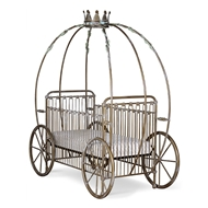 Corsican Furniture Company Stationary Pumpkin Canopy Crib 42664