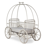 Corsican Furniture Stationary Pumpkin Canopy Crib 43812