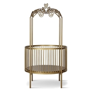 Corsican Furniture Stationary Round Canopy Crib
