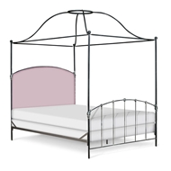 Corsican Furniture Upholstered Canopy Bed 43372