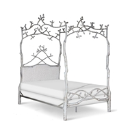 Corsican Furniture Upholstered Forest Dreams Canopy Bed