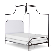 Corsican Furniture Company Upholstered Olivia Canopy Bed 43116