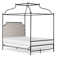 Corsican Furniture Company Upholstered Olivia Canopy Bed 43152
