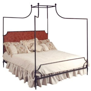 Corsican Furniture Company Upholstered Olivia Canopy Bed 43232
