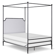 Corsican Furniture Company Upholstered Olivia Canopy Bed 43428