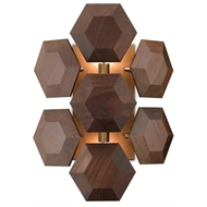 Currey & Company Lighting Honeycomb Wall Sconce 5000-0073