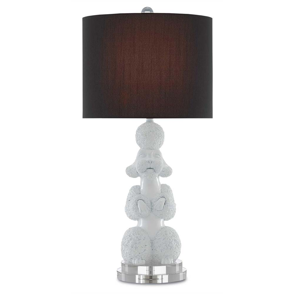 Currey And Company Side Tables: Currey & Company Lighting Ms. Poodle Table Lamp 6000-0204