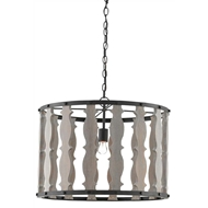 Currey & Company Lighting Hourglass Pendant 9000-0226