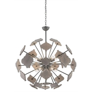 Currey & Company Lighting Ogee Orb Chandelier