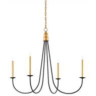 Currey & Company Lighting Ogden Chandelier