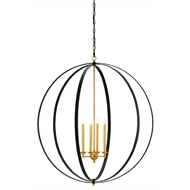 Currey & Company Lighting Ogden Orb Chandelier