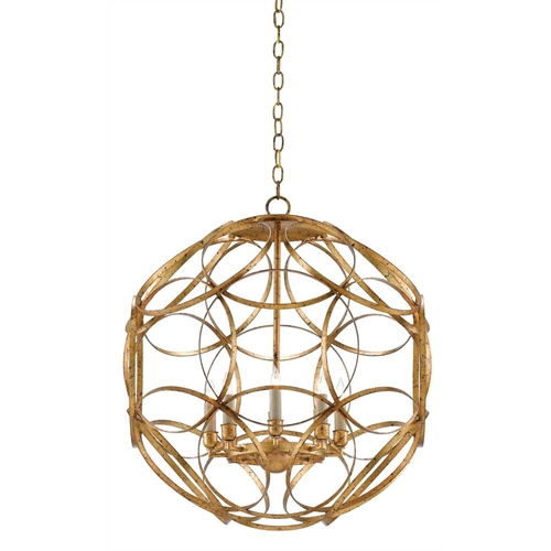 Currey And Company Orb Chandelier: Currey & Company Lighting Rosine Orb Chandelier 9000-0260