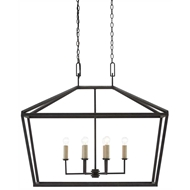 Currey & Company Lighting Denison Rectangular Lantern 9000-0289