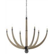 Currey & Company Lighting Wynter Chandelier 9000-0299