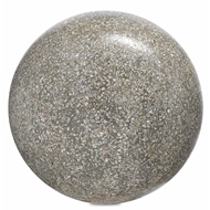 Currey & Company Home Abalone Large Concrete Ball