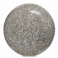 Currey & Company Home Abalone Small Concrete Ball