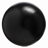Currey & Company Home Black Large Concrete Ball 1200-0051 - Black