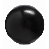 Currey & Company Home Black Small Concrete Ball