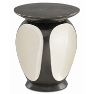 Currey & Company Home Malmo Graphite Accent Table