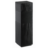 Currey & Company Home Odense Black Pedestal